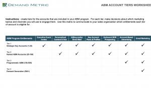 ABM Account Tiers Worksheet