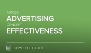 Assess Advertising Concept Effectiveness