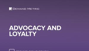 Advocacy and Loyalty Technology Overview