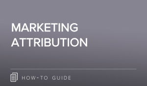 Marketing Attribution