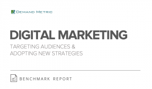 Digital Marketing Benchmark Report 2015