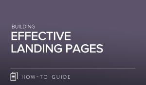Building Effective Landing Pages