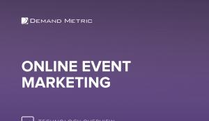 Online Event Marketing Technology Overview