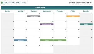 Public Relations Calendar 2020