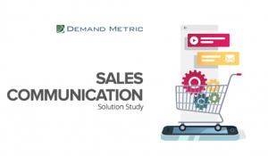 Sales Communication Solution Study