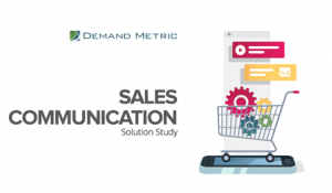 Sales Communication Solution Study
