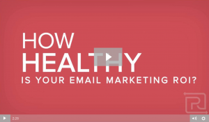 Email Marketing ROI Video Infographic