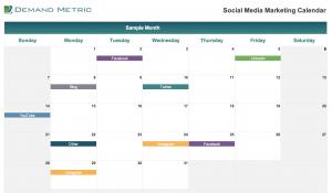 Social Media Marketing Calendar 2022