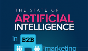 The State of Artificial Intelligence in Marketing Infographic