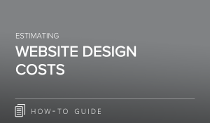 Estimating Website Design Costs