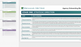 Agency Management Playbook   Demand Metric