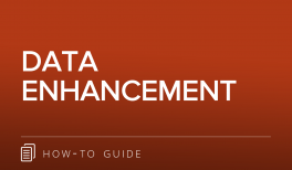 Data Enhancement Guide