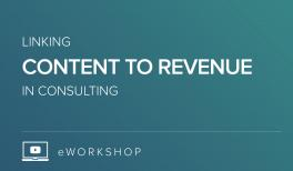 Linking Content to Revenue in Consulting Firms