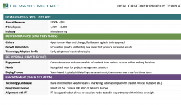 Ideal Customer Profile Template ICP Template