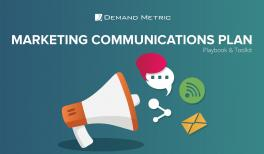 Marketing Communications Plan Playbook