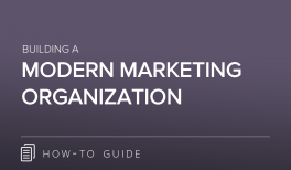 The Modern Marketing Organization