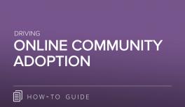 Driving Online Community Adoption