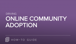 Driving Online Community Adoption
