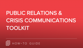 PR CRISIS COMMS TOOLKIT