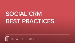 Social CRM Best Practices