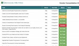 Supplier & Vendor Evaluation   Demand Metric