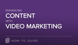 Enhancing Content with Video Marketing