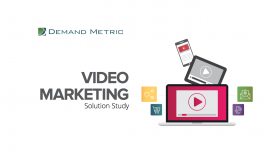 Video Marketing Solution Study