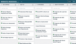 Website Roadmap Template Demand Metric